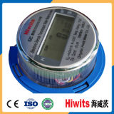 Medidor de água tempo real de Digitas do monitor do medidor de água da HOME da medida