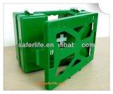 Starker ABS Speicher-medizinische an der Wand befestigte Plastikaufbewahrungsbehälter-Erste-Hilfe-Ausrüstung (SL-060)