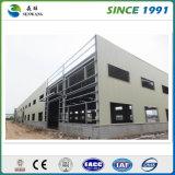 Alta costruzione della struttura d'acciaio di Strory per il gruppo di lavoro del magazzino del banco
