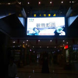 Indicador de diodo emissor de luz interno do vídeo de cor P4 cheia para anunciar a tela