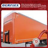 Un côté ont laqué/couverture camion de tente/bâche de protection enduite par PVC ignifuge/Anti-Rouille