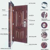 Portes d'entrée en acier d'immeuble (porte d'entrée)