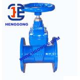 비 API/DIN 손잡이 상승 줄기 플랜지 연성이 있는 철 게이트 밸브