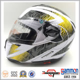 Двойной Flip МНОГОТОЧИЯ забрал вверх по шлему мотоцикла (LP508)