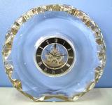 Mini piccolo orologio da tavolino di cristallo Mn-5158 di alta qualità K9