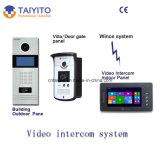 Teléfono video de la puerta de Tyt para el chalet/el edificio