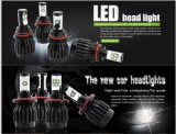 トヨタのためのヘッド電球2年のWaranty 6500k LEDの