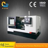 Ck80Lの大きい傾いたベッドFanuc制御を用いる水平CNCの旋盤