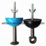 콘크리트 부품 건축재료 (20T)를 위해 이전 드는 닻 고무 오목면