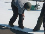Membrana 100% Waterproofing do PVC do material do Virgin para a telhadura