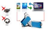 소형 USB 지팡이 Thumbdrive 회전대 전화 USB 운전사