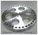 OEM ODM Precisie CNC die de Geanodiseerde Hardware van de Legering van het Aluminium machinaal bewerken