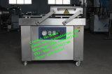 Empaquetadora bicameral automática del vacío, máquina del lacre