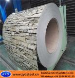 Aço PPGI do projeto do tijolo na bobina