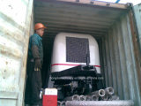 Bomba concreta del acoplado con la salida 60m3/H