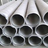 Roestvrij staal 304 van de fabriek de Pijpleiding van de Filter van het Scherm van Johnson van de Draad van de Wig voor goed het Boren