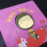 Livre d'enfants spécial de carton de livre de panneau de fantaisie de modèle d'impression de livre pour enfant