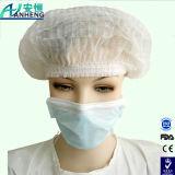 Nichtgewebte wegwerfbare chirurgische Schutzkappen-Bouffant runde Schutzkappe