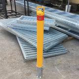 Bolardo movible de acero manual con el bloqueo interno Rb07