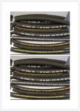 En 857 1sc choisissent le boyau hydraulique de tresse de fil