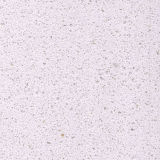 Pedra branca de quartzo da grão fina para a superfície contínua