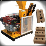 Máquina de fabricación de ladrillo manual del cemento Hr1-25 planta hidráulica del ladrillo