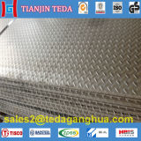 Feuille antidérapage de l'acier inoxydable 304