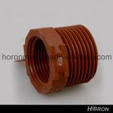 Adaptador del Acoplador-Unión-Codo-Te-Tanque de la cuerda de rosca del Guarnición-Varón del tubo de agua de Pph (1 '')