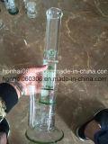 Зеленая труба водопровода Pyrex толщиная стеклянная с куполом Perc 8 ''