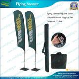 屋外の表示羽のフラグ(T-NF04F06020)を広告するポータブル
