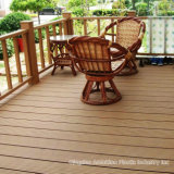 Composto plástico de madeira do Decking de WPC