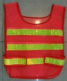 Gilet standard de sécurité de Refelective de la Salut-Force En471/gilet de garantie