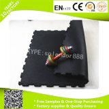 Forma de bloqueo del suelo de la aptitud Fácil instalar el suelo de goma Azulejos