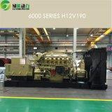 Jdec 16V190中国の製造業者からの大きい力1000kwの天燃ガスの発電機