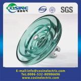 Isolador de vidro de alta tensão com padrão IEC60383
