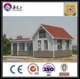 Casa do painel de sanduíche do baixo custo de Xgz do tipo do chinês/casa de campo modulares pré-fabricadas de pouco peso famosas Villadom (XGZ-0279)
