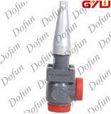 TVD-um que solda a válvula do batente e de controle do ângulo direito