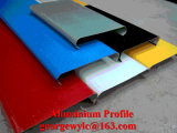 Commande numérique par ordinateur en aluminium d'usine traitant l'excellent profil en aluminium industriel d'aluminium de profil d'extrusion de traitement extérieur