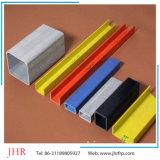 Perfiles cuadrados del tubo del canal FRP de Pultruded de la fibra de vidrio de la fuente de Diect de la fábrica