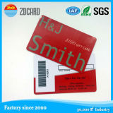 Cartão esperto personalizado do controle de acesso da impressão RFID com tira magnética
