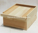 Подгонянная коробка индикации ретро дух верхнего качества деревянная