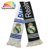 Personnaliser tous les tris d'écharpe, écharpe d'impression, écharpe de passioné du football