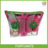 De opnieuw te gebruiken Vouwbare Kosmetische Zak van pvc met Nylon Ritssluiting