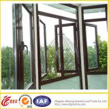 Ventana de aluminio del marco termal de cristal hueco de la rotura/ventana de aluminio