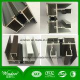 Ventana de aluminio de cristal aislador doble de la rotura termal
