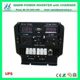Inverseur micro de pouvoir d'UPS 5000W de convertisseur portatif de véhicule (QW-M5000UPS)
