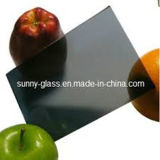 Color de rosa de bronce del verde del gris azul teñido de cristal