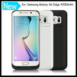 휴대용 Galaxy S6 Edge를 위한 4200mAh External Backup Battery Cover