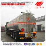 Semi Aanhangwagen van de Tanker van de Vloeistoffen van het Koolstofstaal van de goede Kwaliteit De Chemische