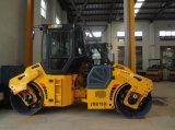 Вибрация двойного барабанчика гидровлическая машинное оборудование цены ролика дороги 10 тонн (JM810H)